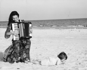 Melissa Accordion Beach - Dana Palmer